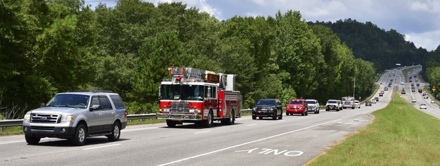 Funeral for Chelsea Fire Chief Wayne Shirley