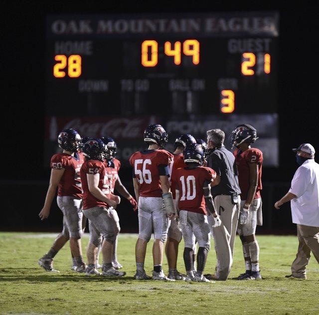 Pelham at Oak Mtn Football