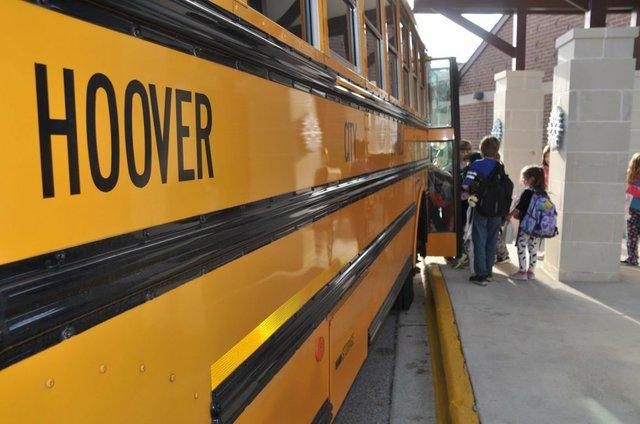 Hoover school bus Dec 2016