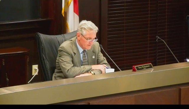 Mayor Tony Picklesimer