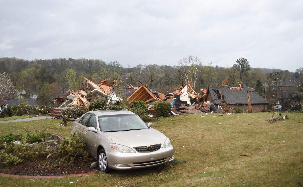 Tornado plows through Shelby County - 280Living.com