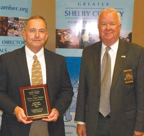 1212 chamber service awards Talton