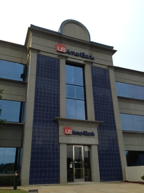 New sign at former Aliant Bank's Meadowbrook branch