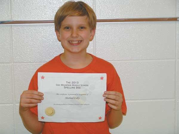 0213 sixth grade spelling bee