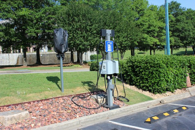 Colonnade Charging Station