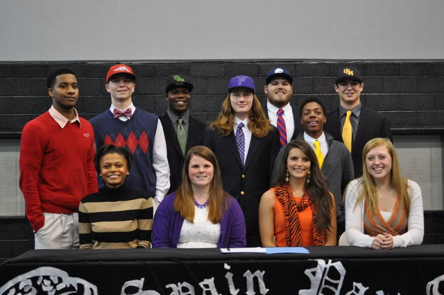 National Signing Day Spain Park Group