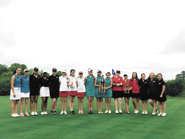 Berry Middle School's Girls Golf