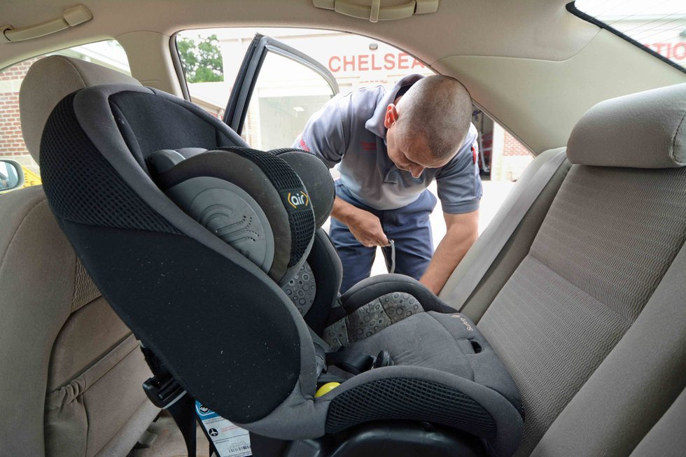 chelsea fire department offering car seat checks. Black Bedroom Furniture Sets. Home Design Ideas