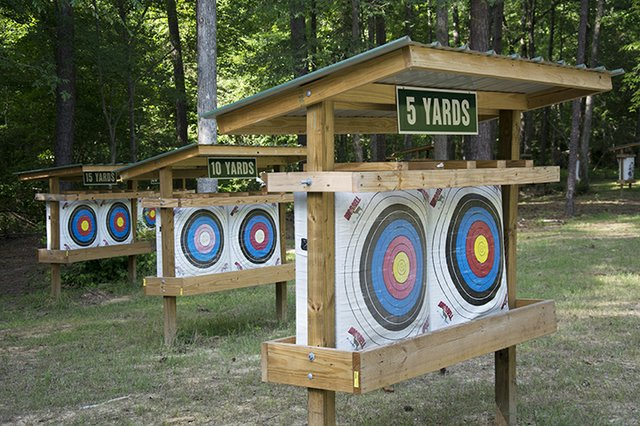 Oak Mountain Archery range