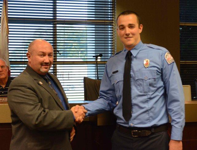 New Chelsea Firefighter