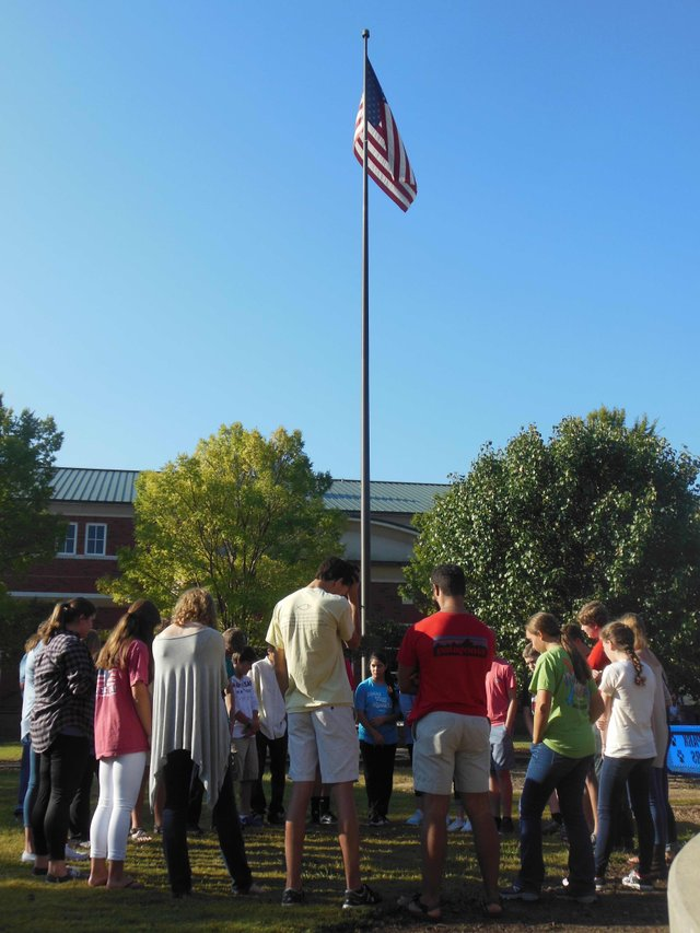 See You at the Pole Spain Park 9-23-15