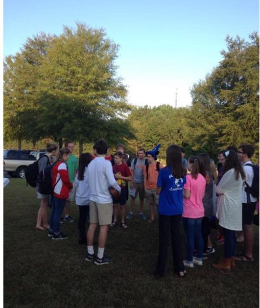 See You at the Pole Chelsea High 9-23-15