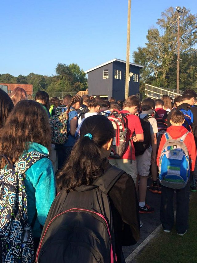 See You at the Pole Oak Mtn Middle 9-23-15
