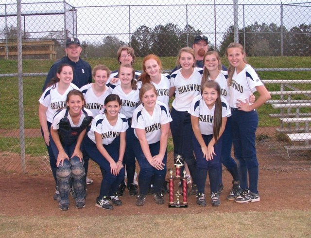 0413 briarwood softball tourney win