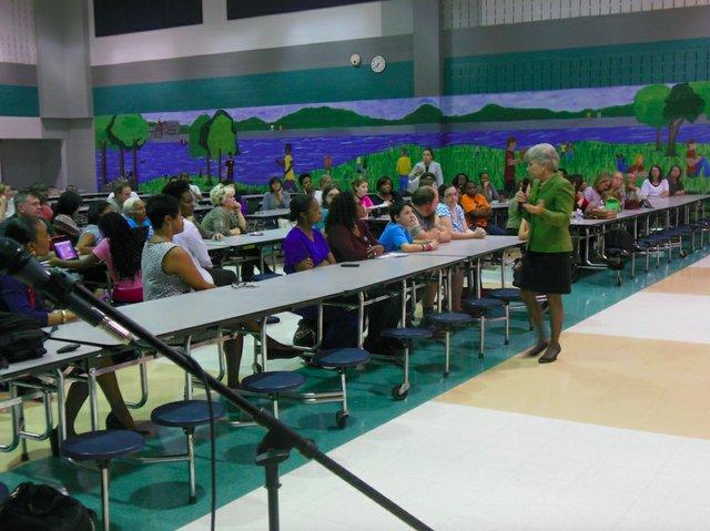 Hoover school rezoning meeting 10-6-15 (2)