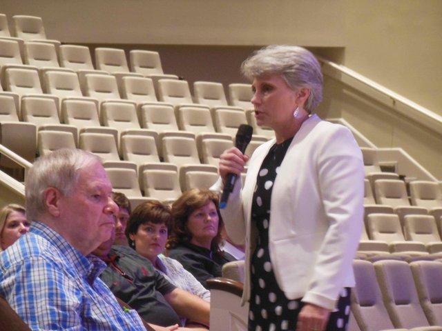 Hoover school rezoning meeting 2 10-8-15