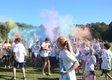 Blue White Color Dash