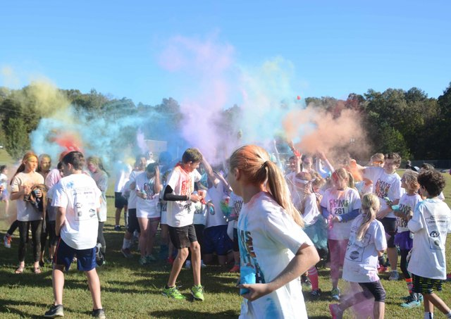 Blue White Color Dash