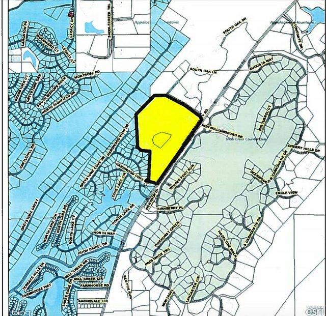 Brock Point locator map