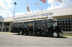 Hoover police mobile command center