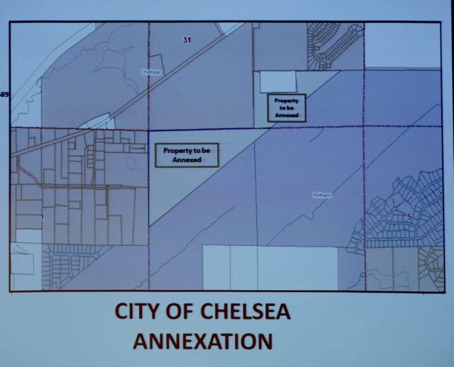 Land annex