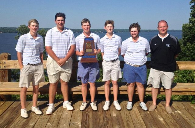 0513 SPHS Golf state champions
