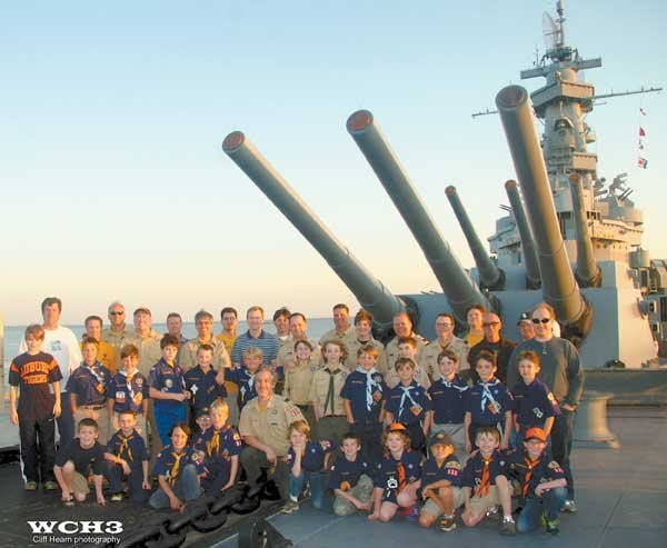 0613 scouts battleship