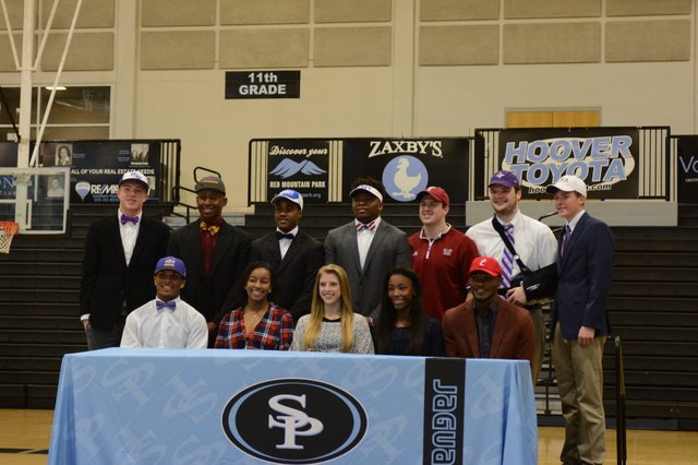 Spain Park Signing Day