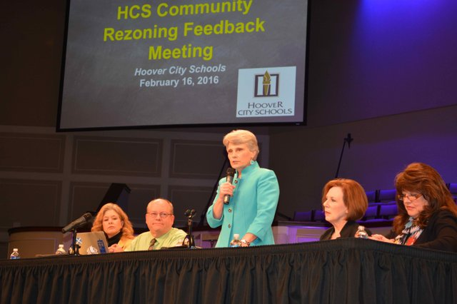 Hoover rezoning meeting 2-16-16