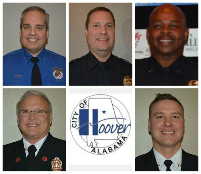 2015 Hoover public safety awards