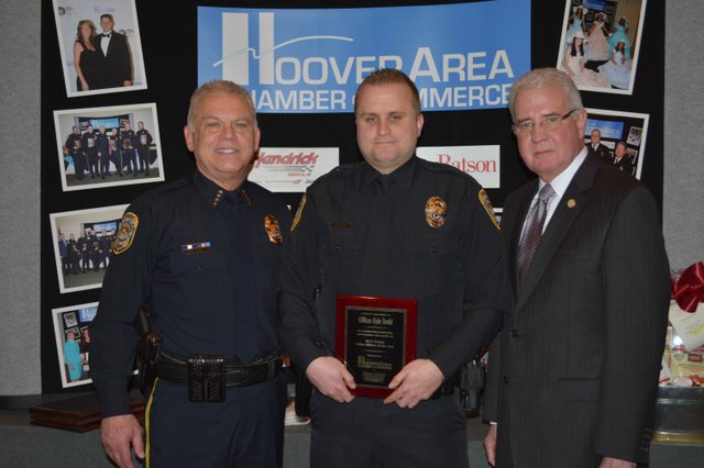 Hoover Police Officer of the Year Finalist 2015 (2)