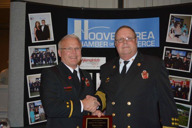 Hoover Firefighter of the Year 2015