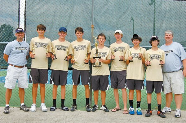 0612 Briarwood boys' tennis champs