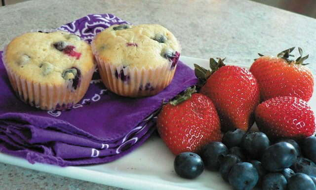 0813 blueberry muffin