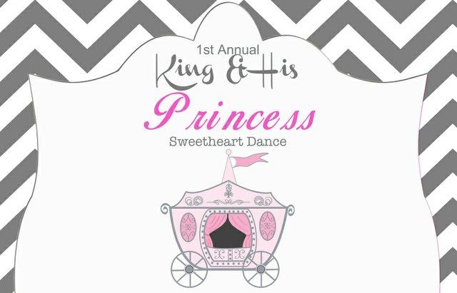 King & His Princess Sweetheart Dance