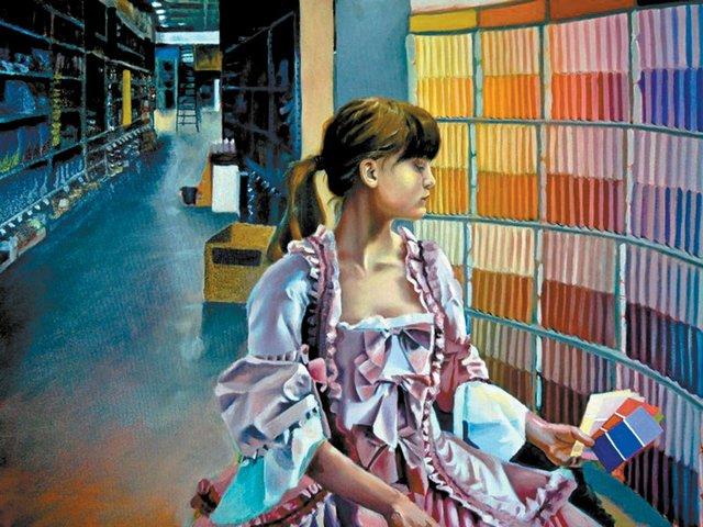 0612 Annabelle DeCamillis winning oil painting