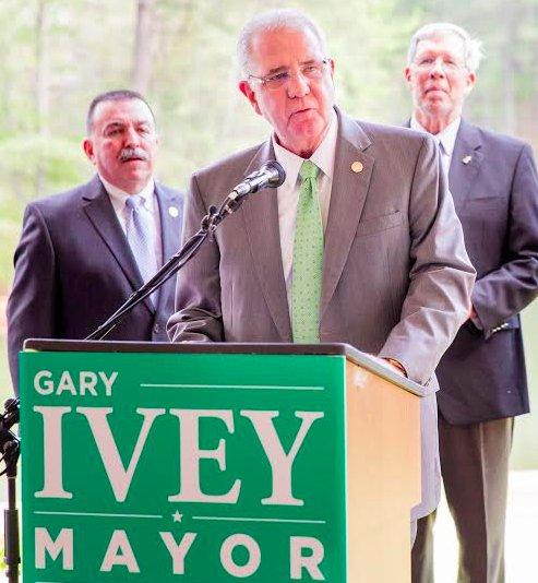 Gary Ivey 2016 campaign kickoff