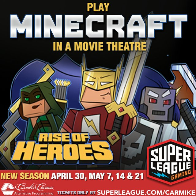 Minecraft gaming series to be held at Carmike Summit 16