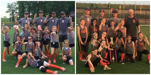 Hoover 2016 softball all-star state champs