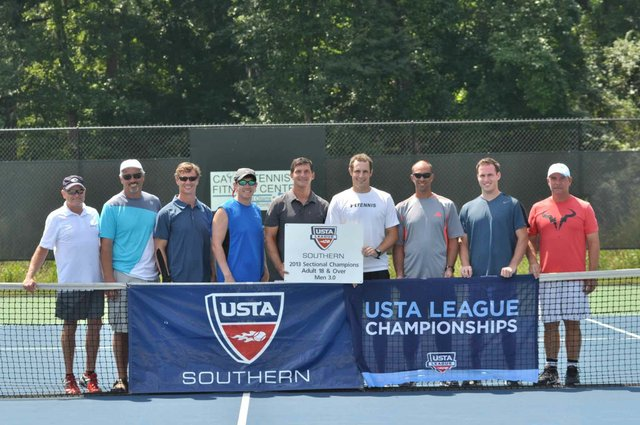 1013 Greystone USTA Tennis Team
