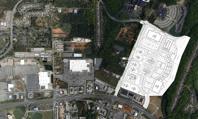 Tattersall Park aerial map