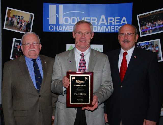 Hoover chamber Freedom Award 2016