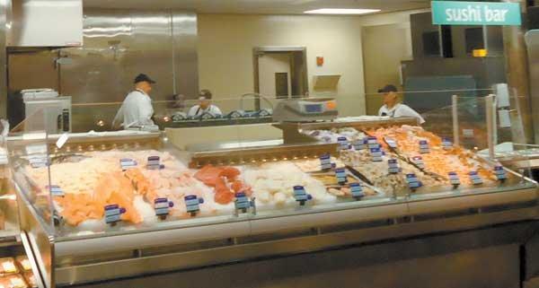 Winn-Dixie seafood