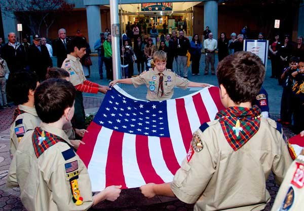 Veterans Week Hoover Scouts