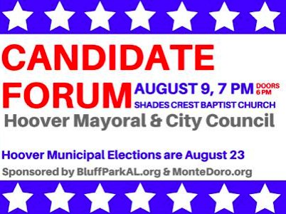 Hoover candidate forum 8-8-16