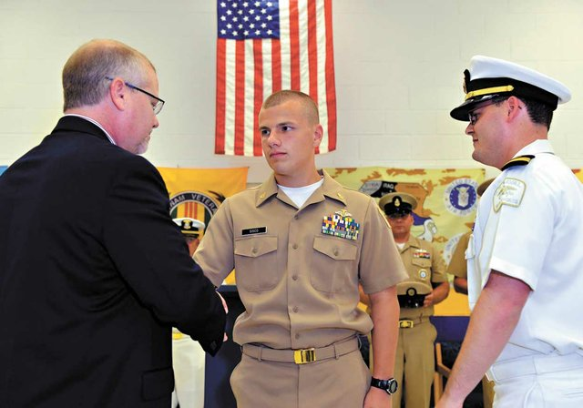 Chelsea Sea Cadet Sisco ceremony