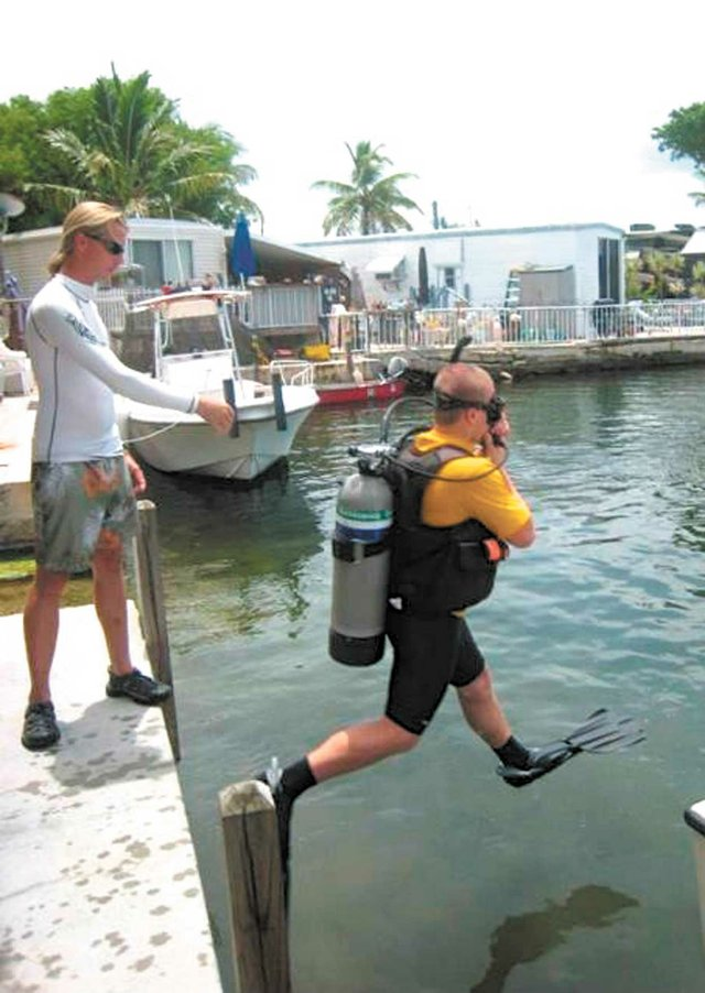 Chelsea Sea Cadet Sisco diving