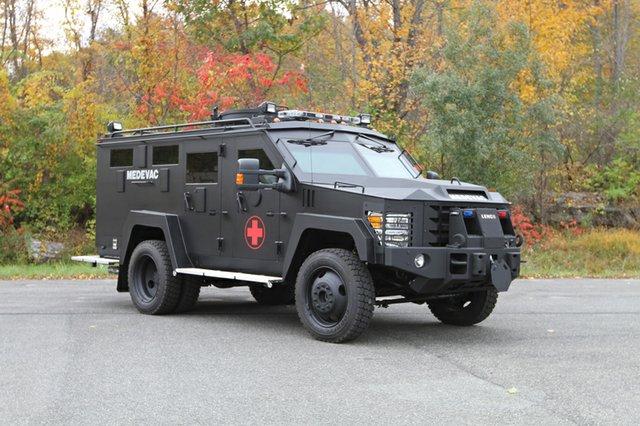Lenco Bearcat armored rescue vehicle