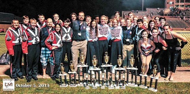 OMHS band competition 2013