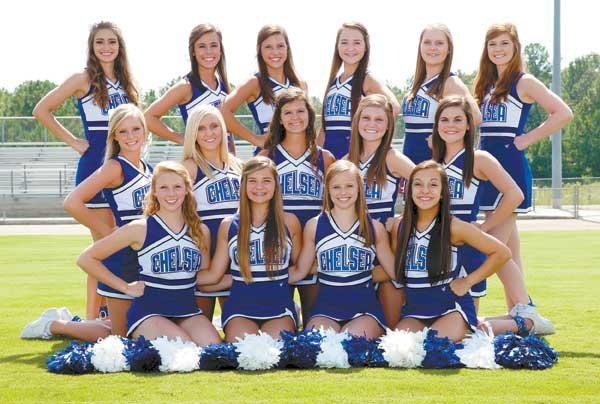 Chelsea Varsity Cheerleaders 2013